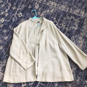 Eileen Fisher Linen Jacket